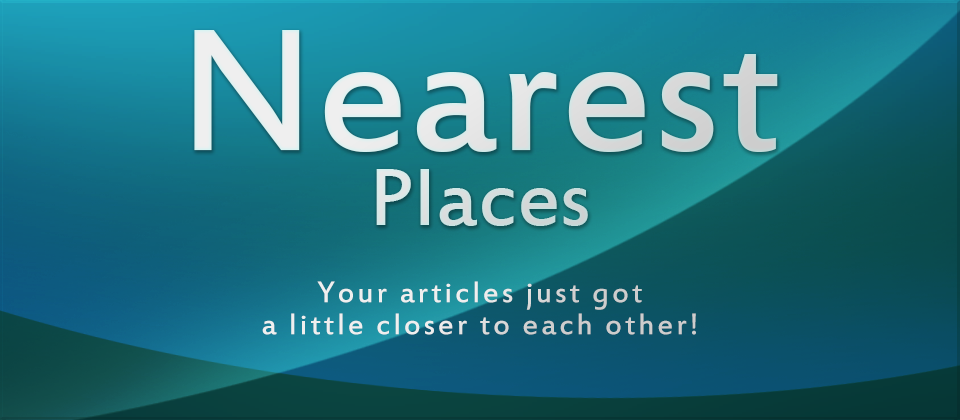 Nearest Places - A simple Joomla! module to show distances between articles