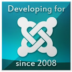 Developing for Joomla! since 2008